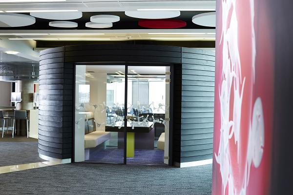 Multi-media pod Life Sciences Hub Wales