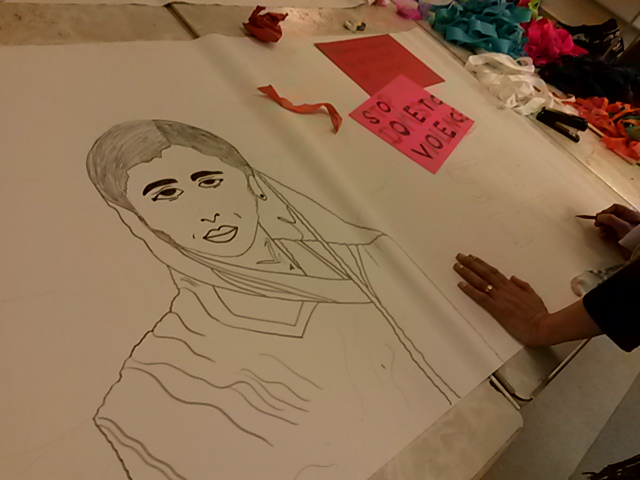 Women, creativity and a cause